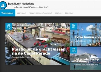 Boot huren Nederland